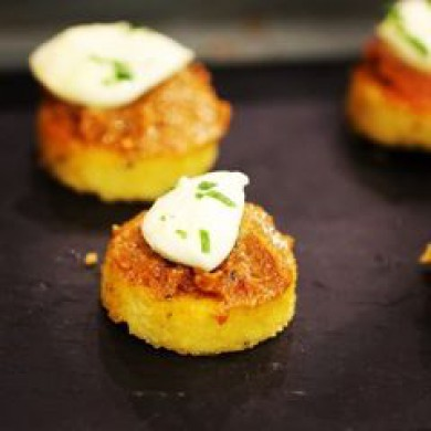 Crostini de Polenta, nuestra receta de verano