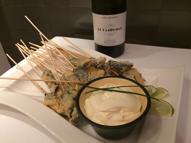 Nuestra receta de aperitivo. Brocheta al Wasabi
