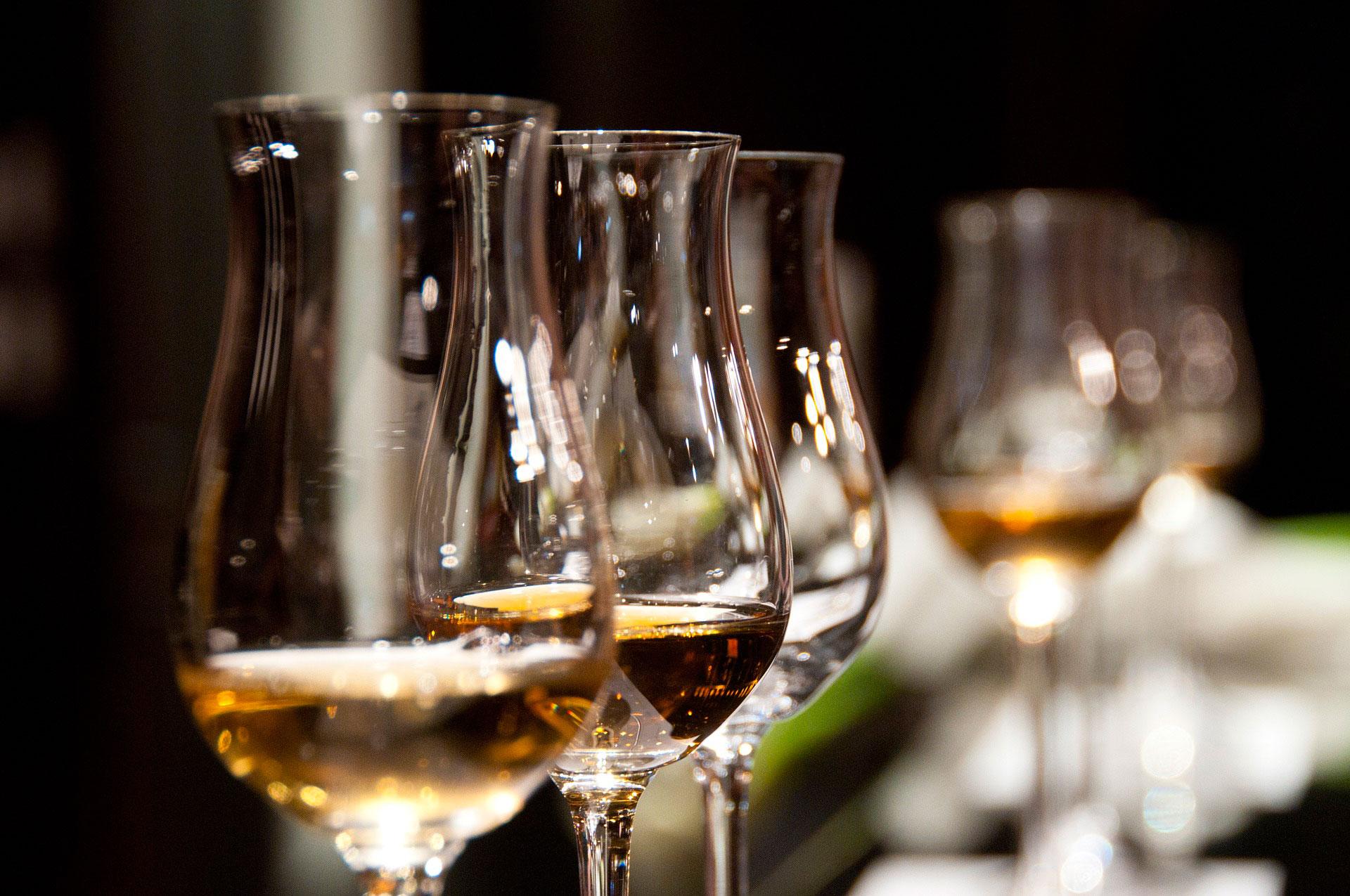 copas cristal con vinos para winelover